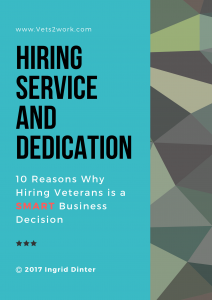 10 Reasons to Hire Veterans